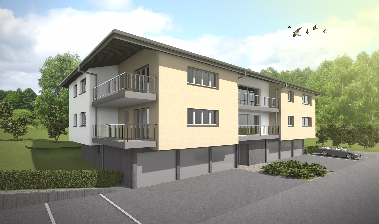 plan 6 appartements